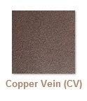 Copper vein finish